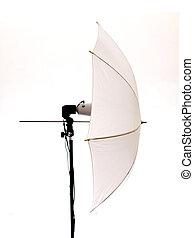 フラッシュ, ∥で∥, 傘