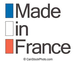 フランス, 作られた, 品質, シール