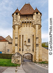 フランス, croux, du, nevers, porte