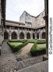 フランス, etienne, cahors, 回廊, 聖者, occitanie, 大聖堂, 中世