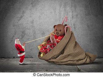 フルである,  christmass, プレゼント