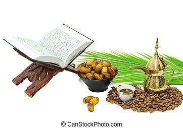フルーツ, quran, 神聖, アラビアコーヒー, 日付