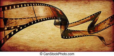 フレーム, ∥あるいは∥, ストリップ, フィルム, 映画
