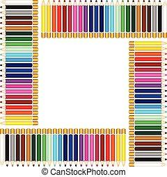 フレーム, ∥で∥, カラードの鉛筆