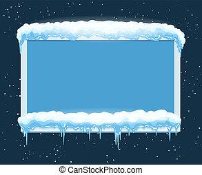 フレーム, 冬の氷