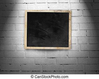 フレーム, 壁, れんが, 写真