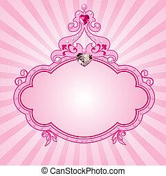 フレーム, 王女, ピンク