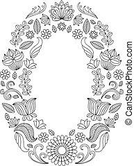 フレーム, 結婚式, text., ベクトル, 黒, 招待, 花, 場所, 白