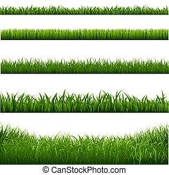 フレーム, 草, ボーダー