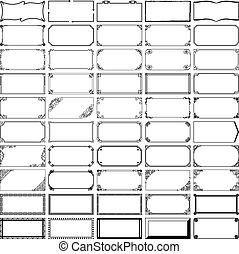 フレーム, 長方形, 50