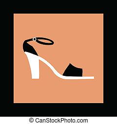 フレーム, 靴