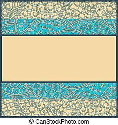 フレーム, art-nouveau, ∥あるいは∥, カード