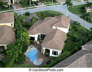フロリダ, 近所, 儀礼飛行, 航空写真