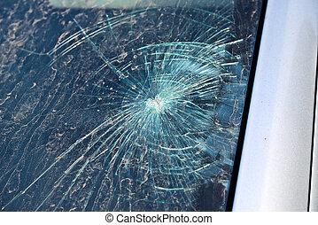 フロントガラス, 壊される