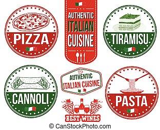 フードスタンプ, 正しい, イタリア語