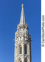 ブダペスト, 教会, st. 。, タワー, matthias