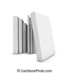 ブックカバー, 白, 背景