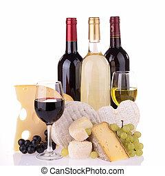 ブドウ酒とチーズ
