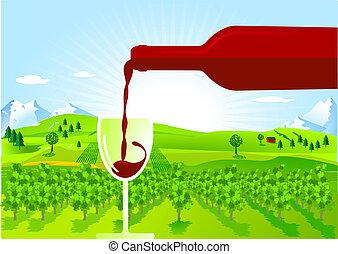 ブドウ酒の育成