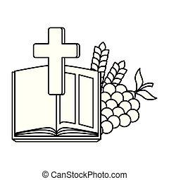 ブドウ, 聖書, 交差点, 神聖