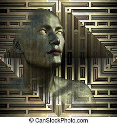 ブラインド, 未来, -, 予言者, 金属