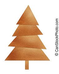ブラウン, クリスマスツリー