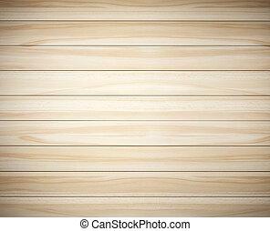 ブラウン, レンダリング, 背景, 木, 板, 3d