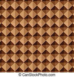 ブラウン, 抽象的, 幾何学的, 背景