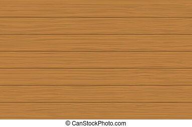 ブラウン, 木手ざわり, ベクトル, 背景, ライト, 板