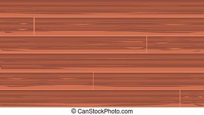 ブラウン, 木製板