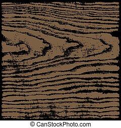 ブラウン, 正方形の フォーマット, 手ざわり, 木, 背景