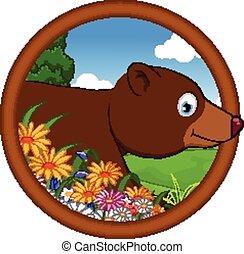 ブラウン, 漫画, 熊