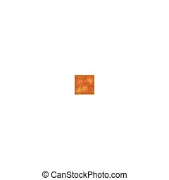 ブラウン, 色, パターン, set., 手ざわり, 木, ライト, 花