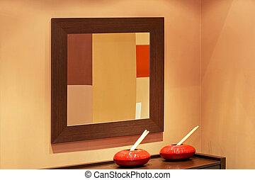 ブラウン, 鏡