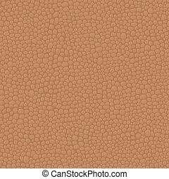 ブラウン, 革, seamless, 手ざわり, パターン, 背景, 皮膚
