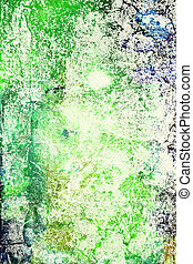 ブラウン, background:, 抽象的, 黄色, パターン, textured, 緑, 背景, 青