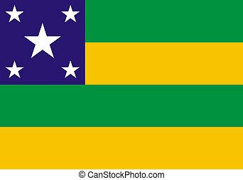 ブラジルの旗, sergipe, 州