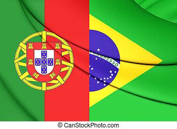 ブラジル, ポルトガルの旗