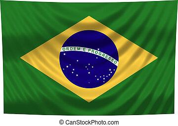 ブラジル, 国旗