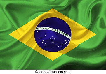 ブラジル, 揺れている旗