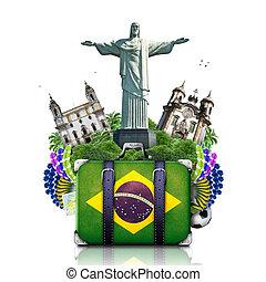 ブラジル, 旅行, ランドマーク, ブラジル