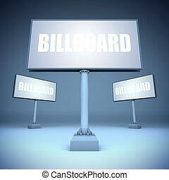 ブランク, テンプレート, billboards.
