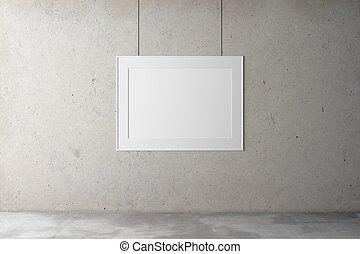 ブランク, フレーム, a, 具体的な 壁
