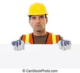 ブランク, 建築作業員, 保有物, 印
