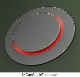 ブランク, 押しボタン, ∥あるいは∥, スイッチ, ショー, コピースペース
