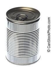 ブリキ缶, 隔離された