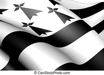 ブリタニー, 旗
