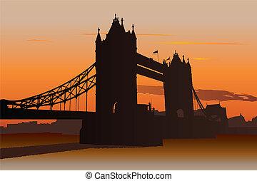 ブリッジ塔, ロンドン, イギリス