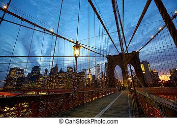 ブルックリン 橋