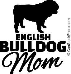 ブルドッグ, お母さん, 英語